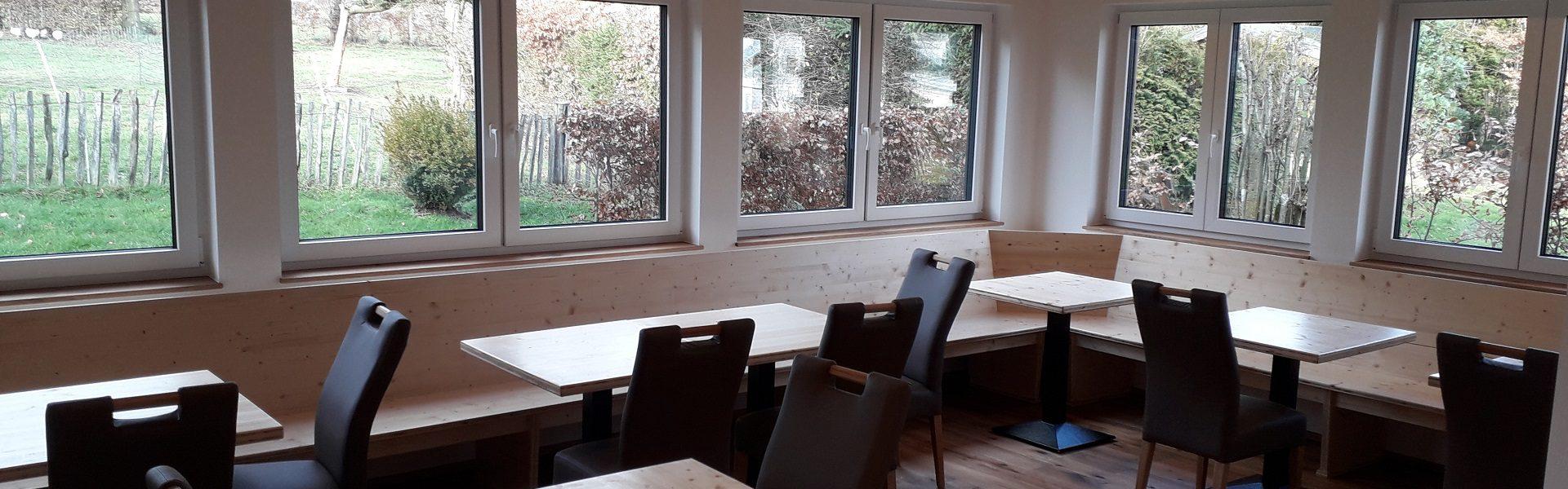 Frühstücksraum Stand 05.01.2021
