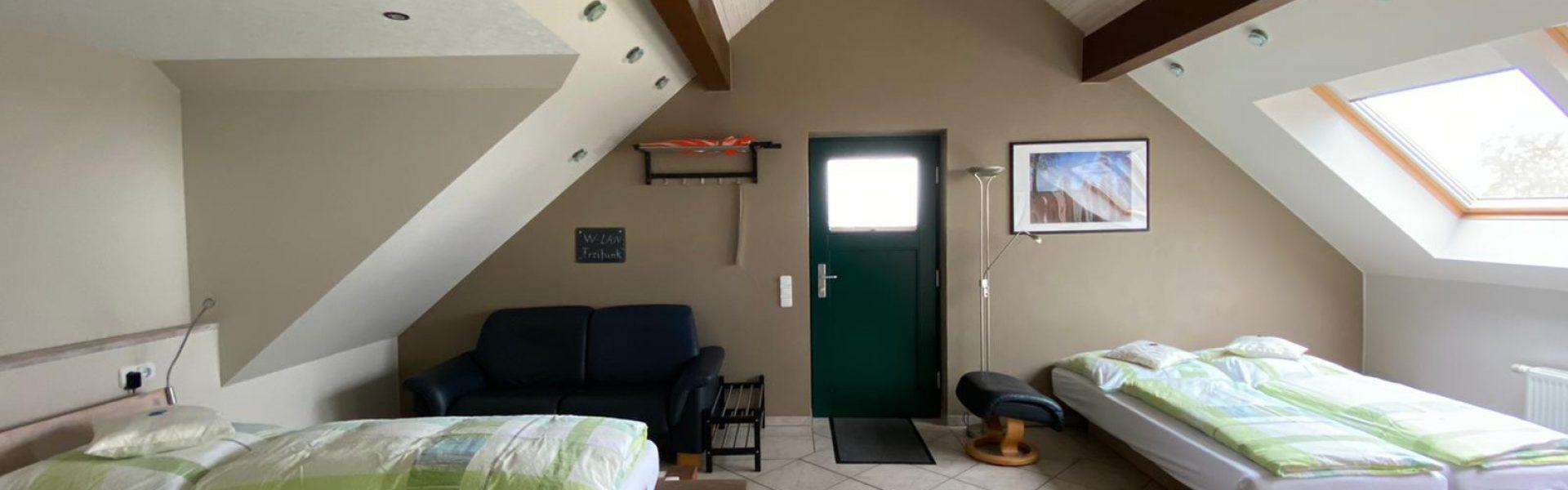 Premium-Doppelzimmer als 4-Bett-Zimmer